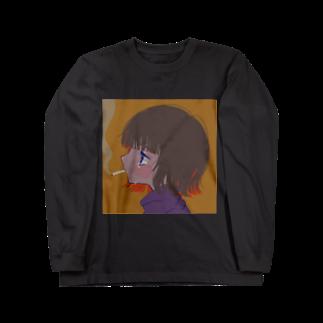 ねおぴす/neopisのスパスパ Long sleeve T-shirts