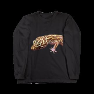 N-Reptilesのベルアルビノ Long sleeve T-shirts