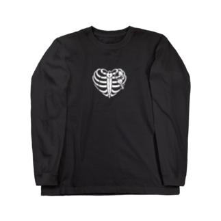 ハートの肋骨 Long sleeve T-shirts