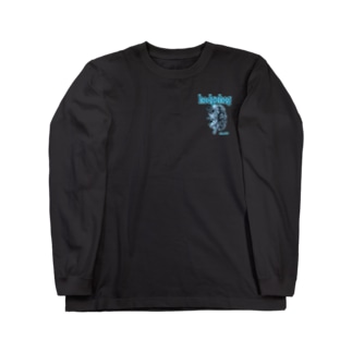 colors ブルー Long sleeve T-shirts