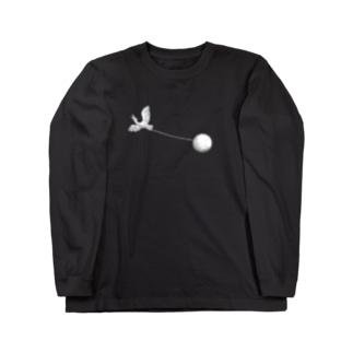 Bird Watcher White Long sleeve T-shirts