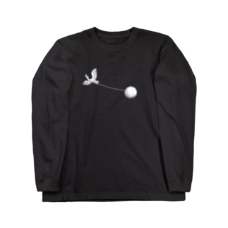 OW STOREのBird Watcher White Long sleeve T-shirts