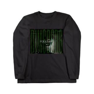 残像FACE infection/DB_12 Long sleeve T-shirts