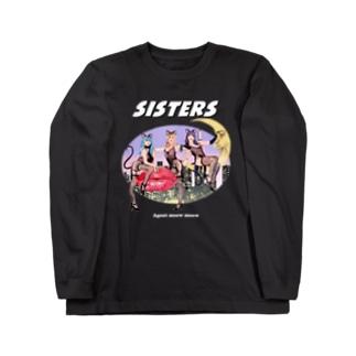 Hitoshi KurokiのSISTERS Long sleeve T-shirts