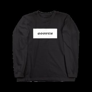 Naoki KomoriのGOOWEN Long sleeve T-shirts