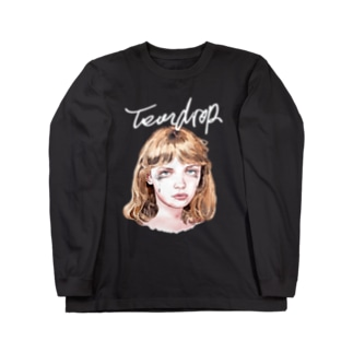 Hitoshi KurokiのTeardrop Long sleeve T-shirts