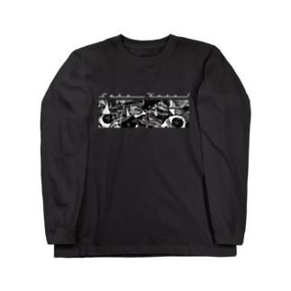 Sake Kuzu!_Black Long sleeve T-shirts