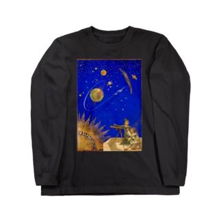 「天体観測展・月世界旅行」 Long sleeve T-shirts