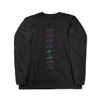『いきの構造』の構造シャツ Long sleeve T-shirts
