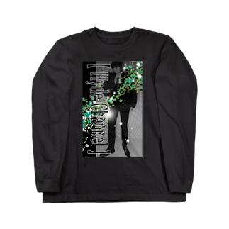 【舎弟運UP !】Green-Hyde Long sleeve T-shirts