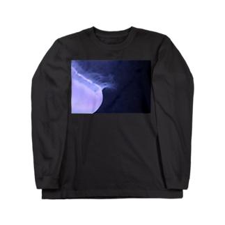 くらげ『深淵』 Long sleeve T-shirts