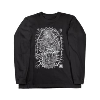 ノーマーシーミニガンマリア Long sleeve T-shirts