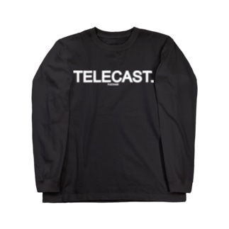 FUZZAGE(TM) No.6 TELECAST Long sleeve T-shirts