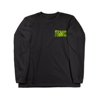 marijuanaロンT Long sleeve T-shirts