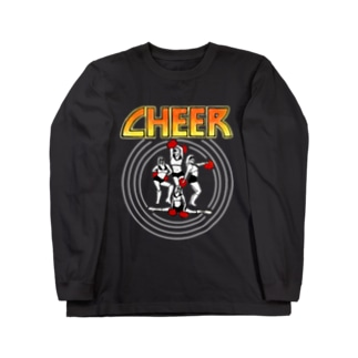 KISS CHEER キッスチア Long sleeve T-shirts