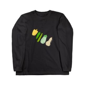 【Full Colored】野菜 VG-1 Long Sleeve T-Shirt