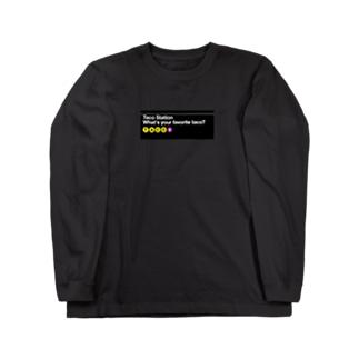 Taco Station Long sleeve T-shirts
