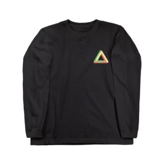 三角形 Long sleeve T-shirts