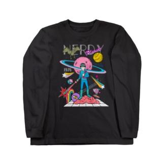 Nerdy Planet no.2 débris  Long sleeve T-shirts
