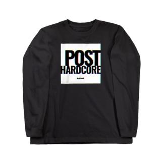 FUZZAGE No.10 POST HARD CORE Long sleeve T-shirts