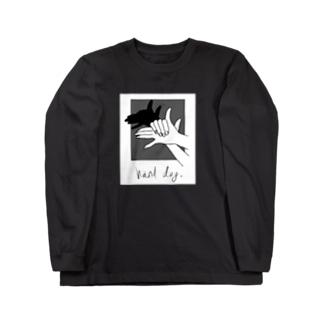 Hand Dog(shadow2) Long Sleeve T-Shirt