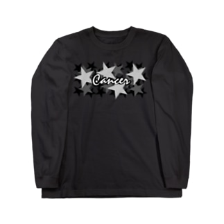 Cancer/かに座 Long sleeve T-shirts