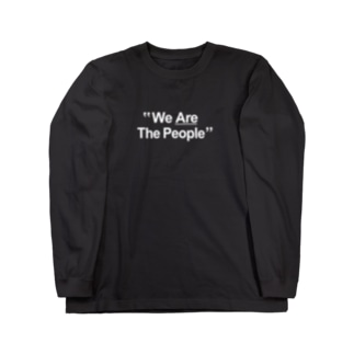 "stereovisionの""We Are The People"" Long sleeve T-shirts"
