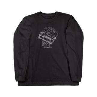 正式名:1/2の女性死体 Long sleeve T-shirts