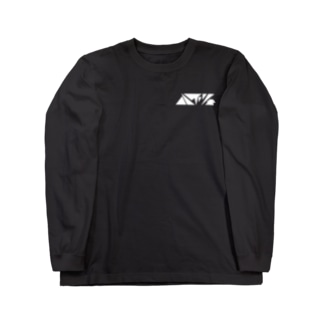 ハイツ(白文字) Long sleeve T-shirts