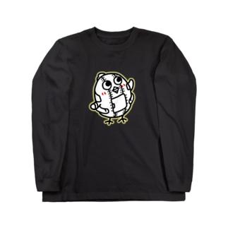 正義の味方 ヒヨコノオミセW Long sleeve T-shirts