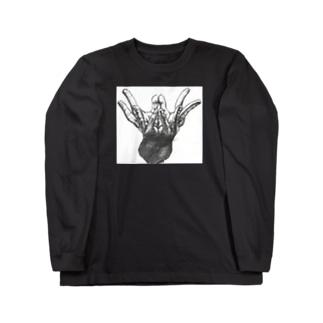 手の花 Long sleeve T-shirts