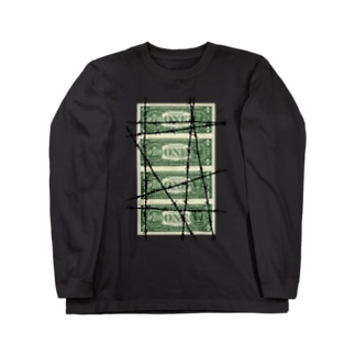 WIRED MONEY Long sleeve T-shirts
