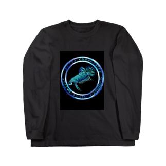 シンフォニー コバルトアクア Long sleeve T-shirts
