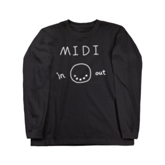 MIDI in out Long sleeve T-shirts