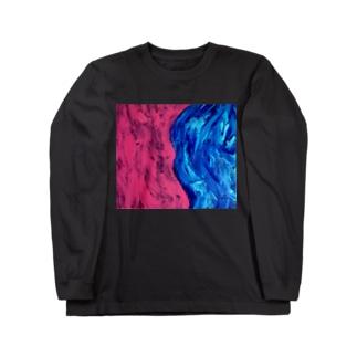 waves Long sleeve T-shirts