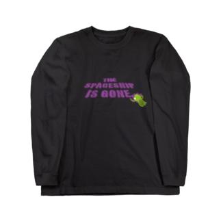 ウチュウセンキエタ Long sleeve T-shirts