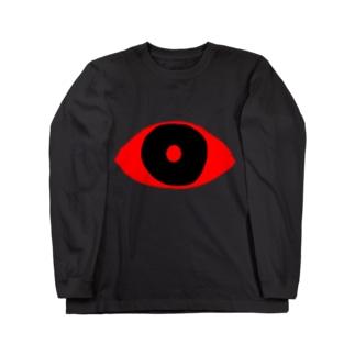赤目 Long sleeve T-shirts