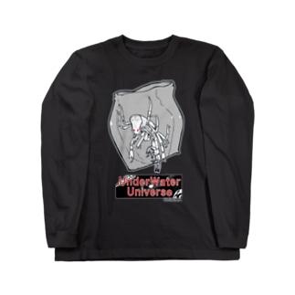 青海島アシナガタルマワシ Long sleeve T-shirts
