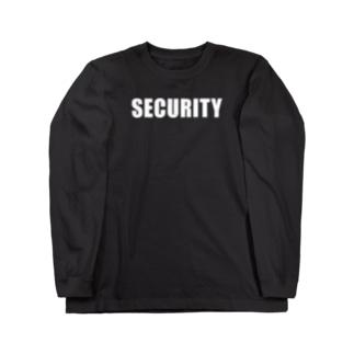 セキュリティー Long sleeve T-shirts
