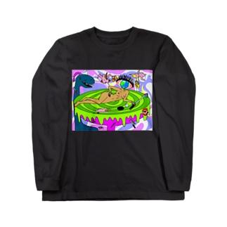 愛のホールインワン Long sleeve T-shirts