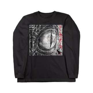 aimuristのEyes of the dinosaur ニューモンジョ Long sleeve T-shirts