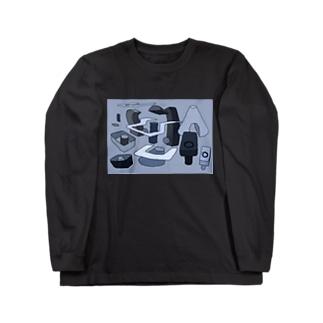 メトロポリス Long sleeve T-shirts