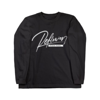 REFLEXION videopark (white) Long sleeve T-shirts
