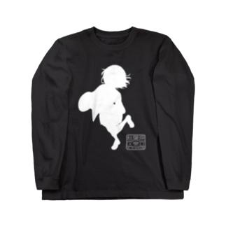 朱音ちゃんシルエットTシャツ Long sleeve T-shirts