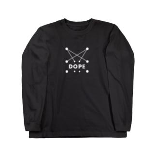 PRINTED 'DOPE' ハリジロウ Long sleeve T-shirts