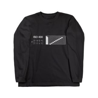 EV値シリーズwhite(ISO400) Long sleeve T-shirts