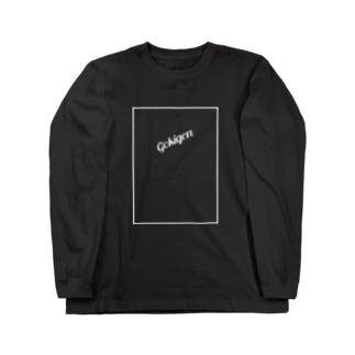 Gokigen Naname_白字 Long sleeve T-shirts