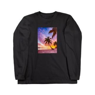サンセットシリーズ Long sleeve T-shirts