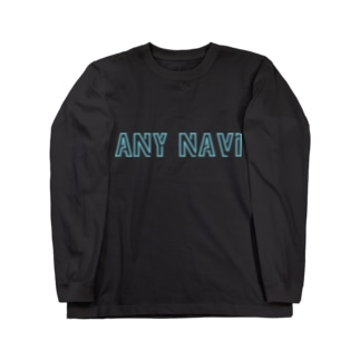 ANY NAVI NEON Long sleeve T-shirts