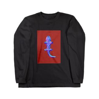 裏・インターネット・オオサンショウウオ Long sleeve T-shirts
